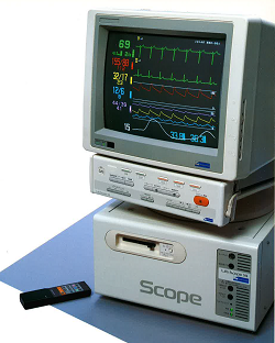 Life Scope 14 bedside monitor
