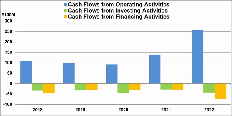 Consolidated Cash Flows